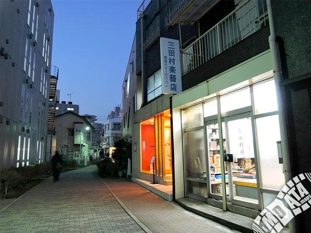 三田村楽器店の写真