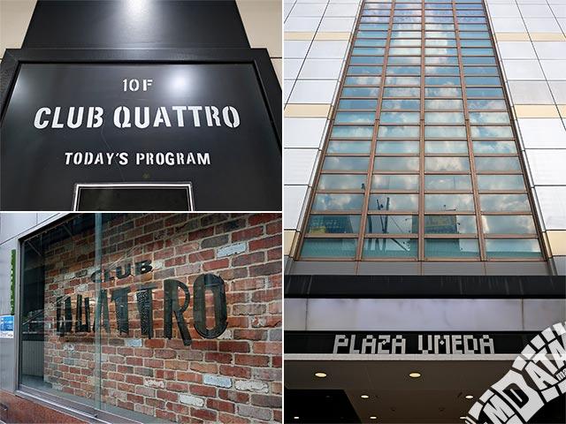 梅田CLUB QUATTROの写真