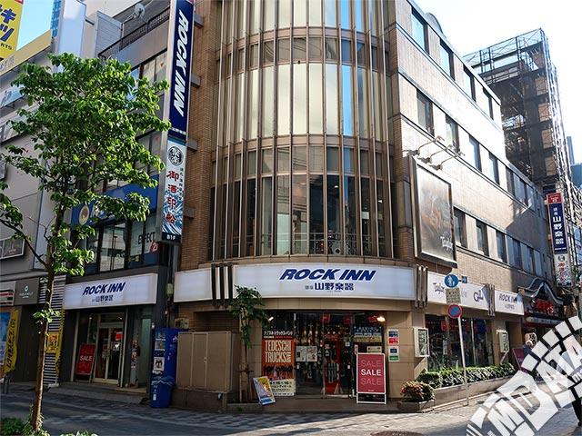 山野楽器ロックイン新宿 ギター&ドラム館の写真