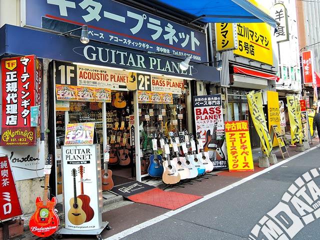 ギタープラネット アコースティック館の写真