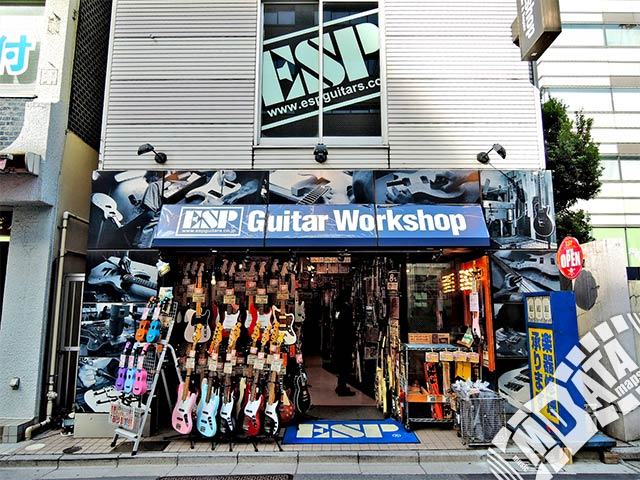 ESPギターワークショップの写真