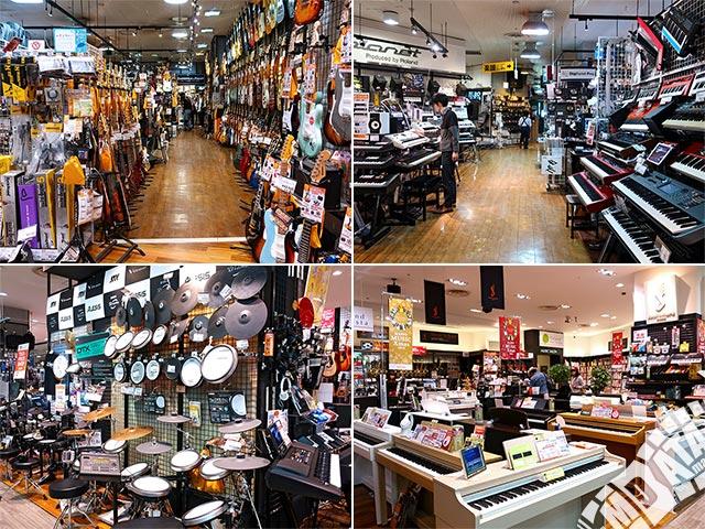 島村楽器 名古屋パルコ店の写真
