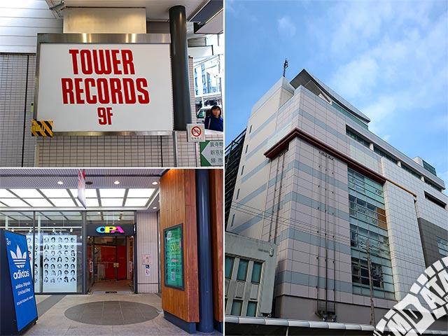 タワーレコード京都店の写真