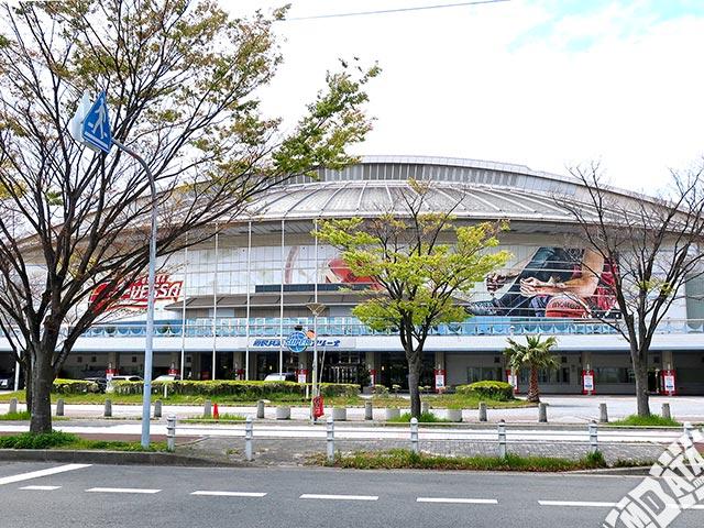 府民共済SUPERアリーナの写真