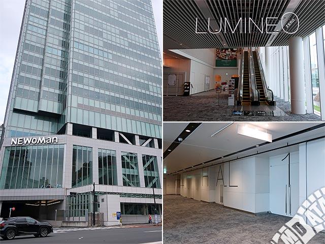 新宿LUMINE0の写真