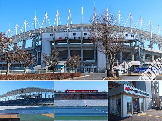 ケーズデンキスタジアム水戸の写真