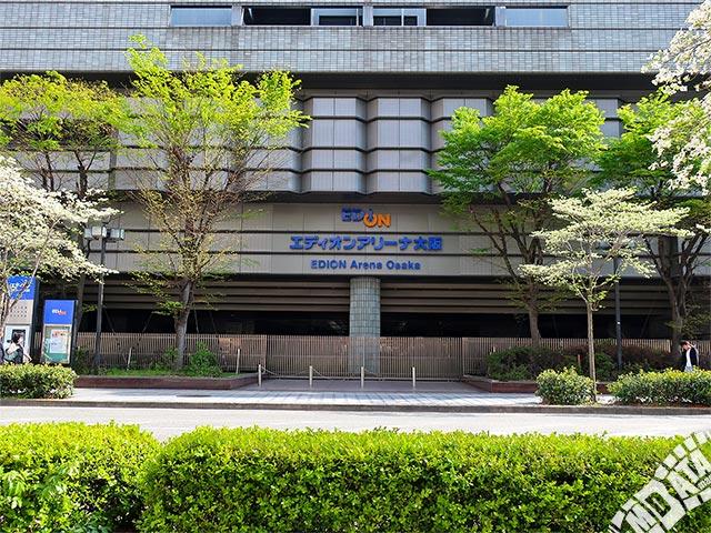 エディオンアリーナ大阪の写真