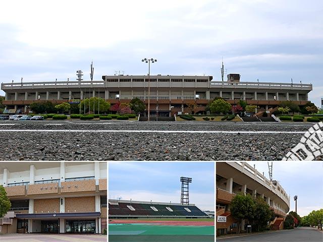 万博記念競技場の写真