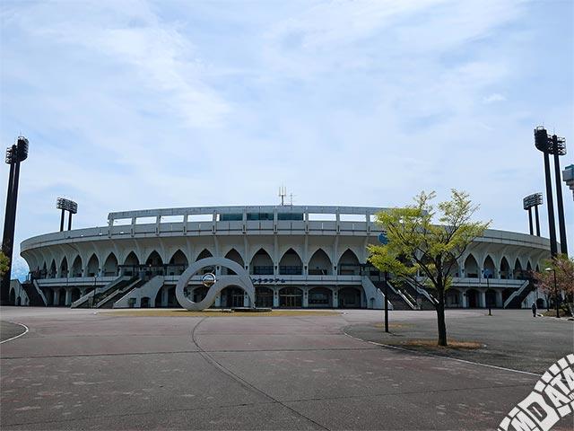 富山市民球場アルペンスタジアムの写真