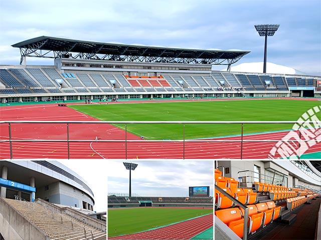 熊谷スポーツ文化公園陸上競技場の写真