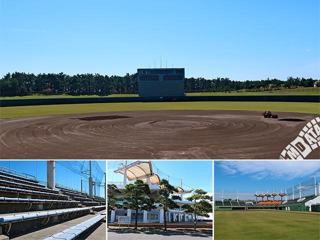 茅ヶ崎公園野球場の写真
