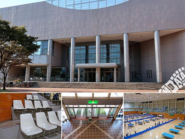 茅ヶ崎市総合体育館の写真