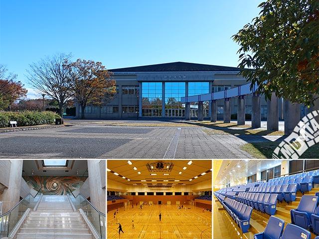 川越運動公園総合体育館の写真