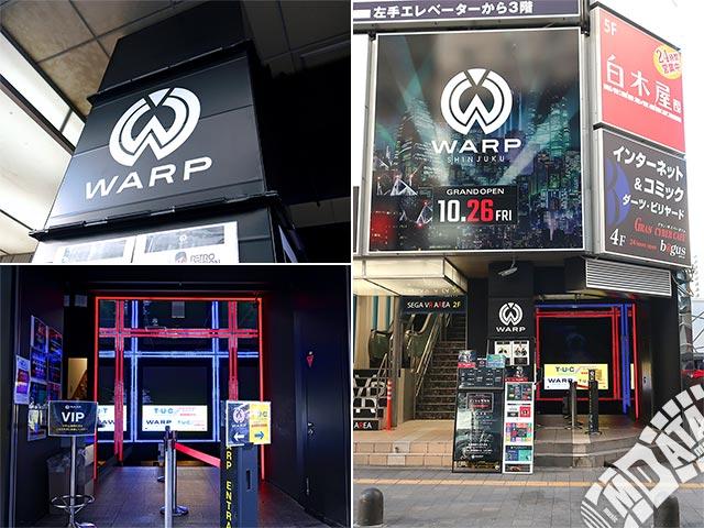 新宿WARPの写真