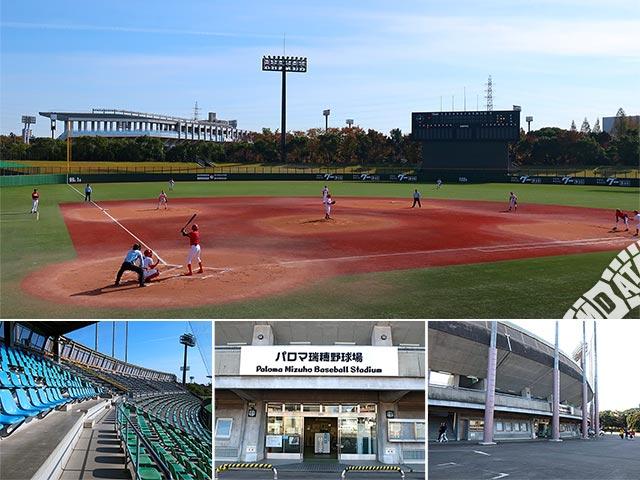 パロマ瑞穂野球場の写真