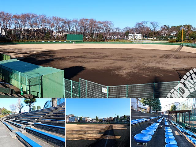 町田市民球場の写真