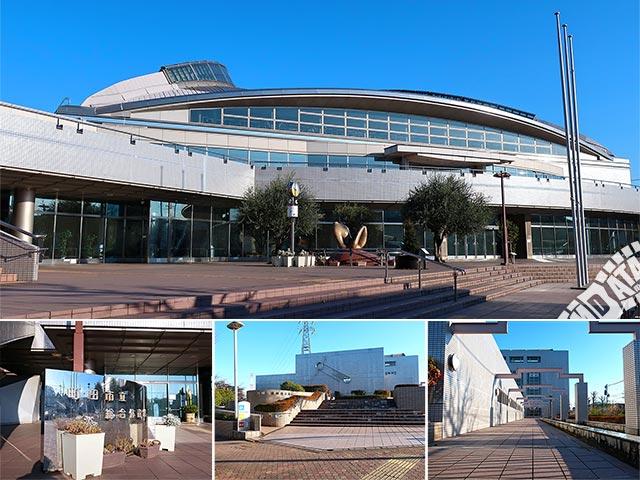 町田市立総合体育館の写真