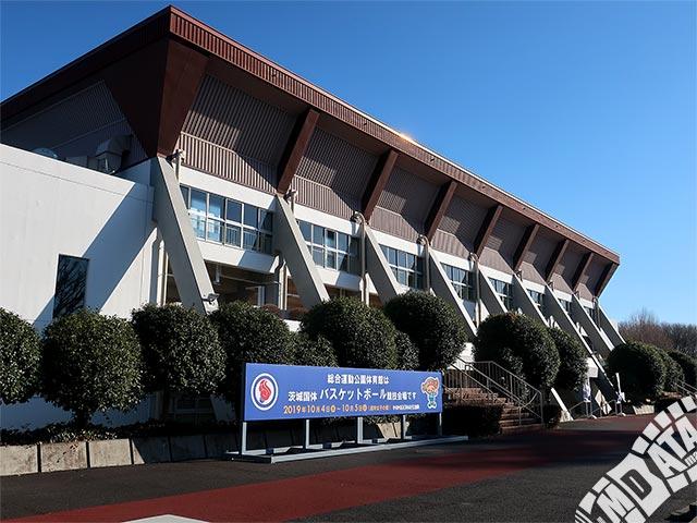 水戸市総合運動公園体育館の写真
