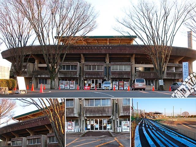 堀原運動公園野球場(茨城県営球場)の写真 撮影日:2019/2/11 Photo taken on 2019/02/11