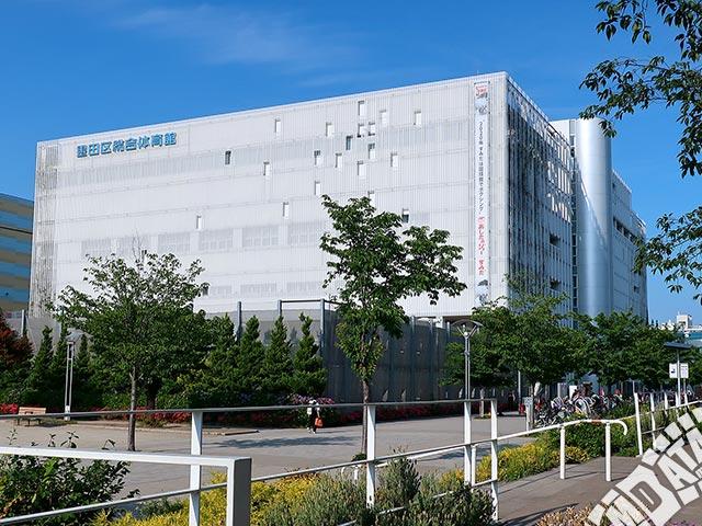 墨田区総合体育館の写真