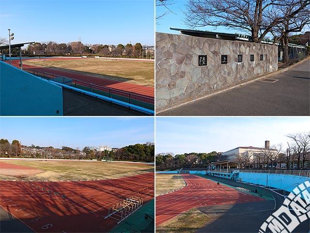 松戸運動公園陸上競技場の写真
