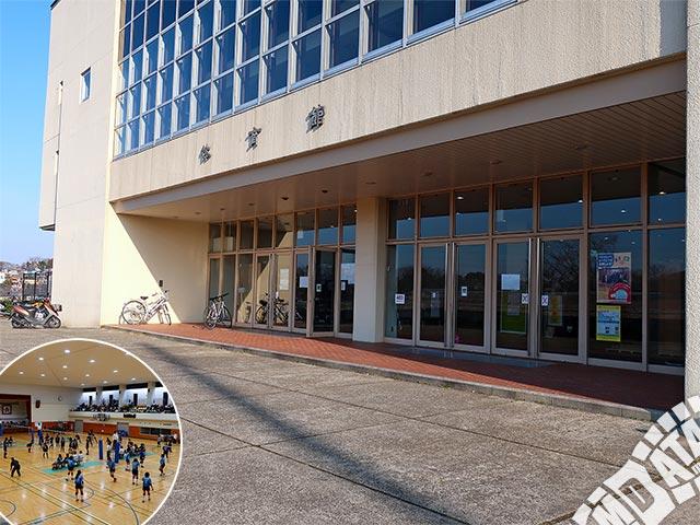 松戸運動公園体育館の写真