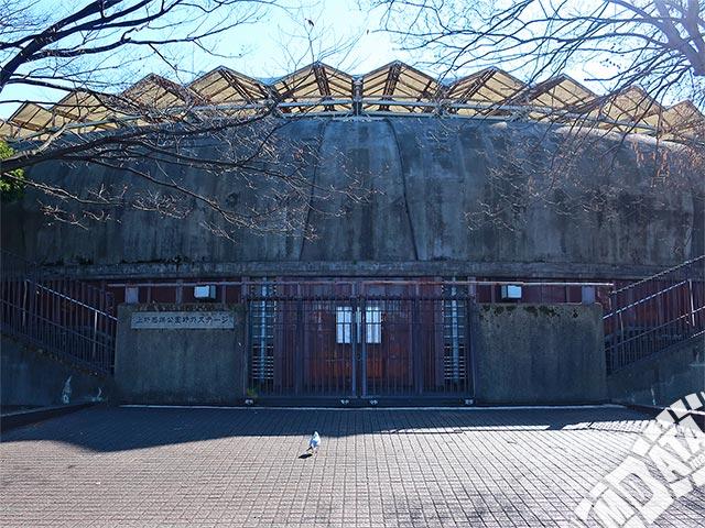 上野恩賜公園野外ステージの写真