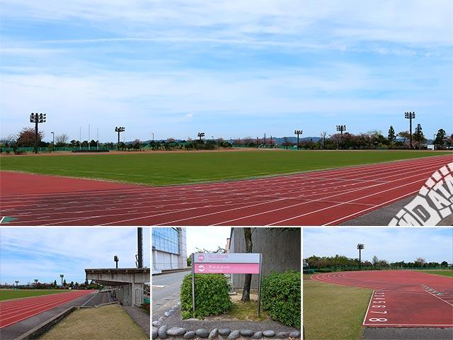 富山県空港スポーツ緑地 陸上競技場の写真