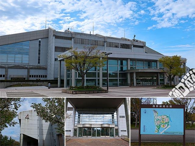 石川県産業展示館4号館の写真