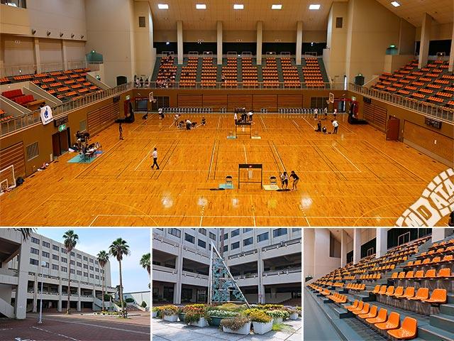 兵庫県立総合体育館の写真