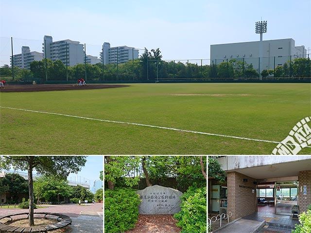 鳴尾浜臨海野球場の写真