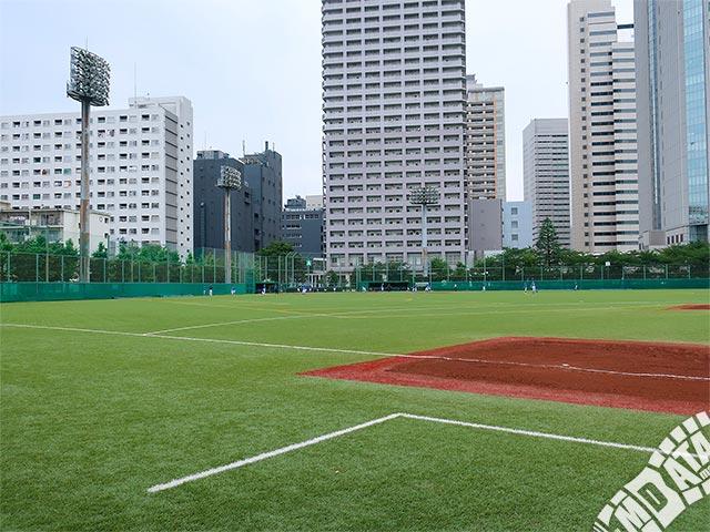 天王洲公園野球場・サッカー場の写真