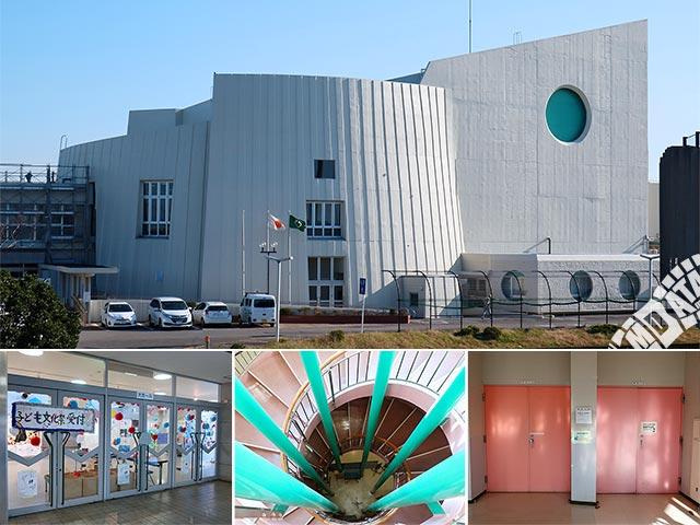 袖ヶ浦市民会館の写真