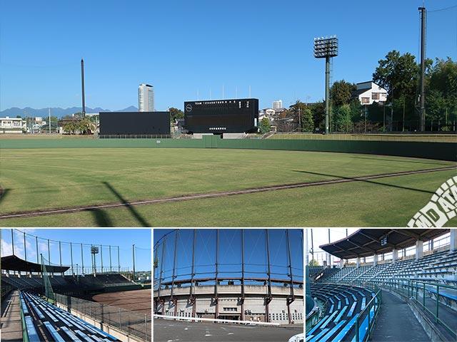 高崎市城南野球場の写真