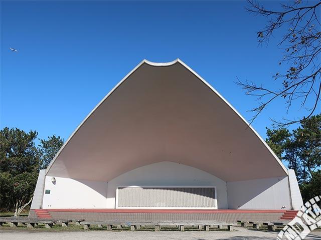 富津公園 野外劇場の写真