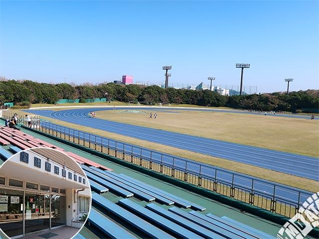 富津臨海陸上競技場の写真