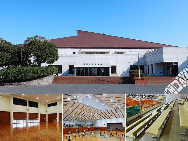 君津市民体育館の写真