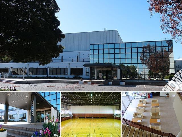 上尾市民体育館の写真