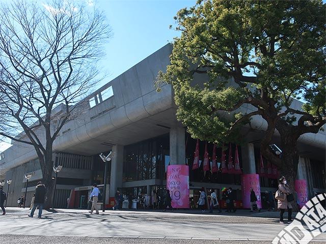 東京文化会館の写真