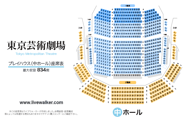 東京芸術劇場 プレイハウス 座席